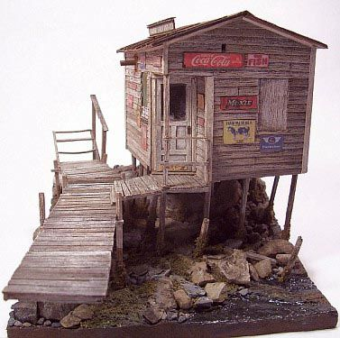 Cottage#wood#over Water# Find More Inspiration @creativeelc ☆