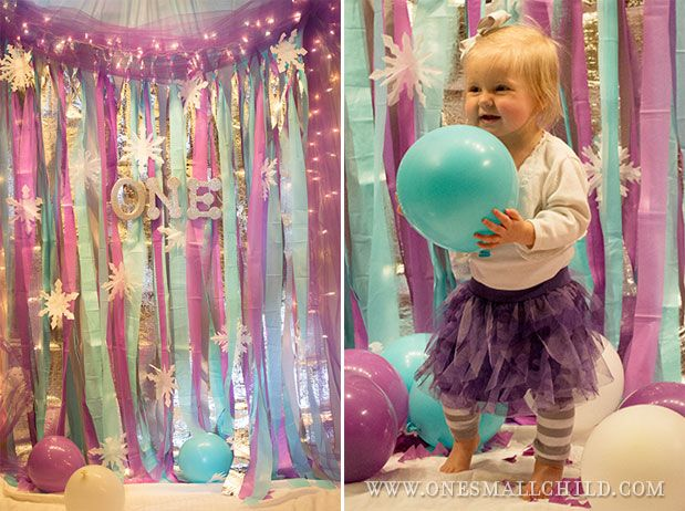 First Birthday Party: Winter 'One'derland