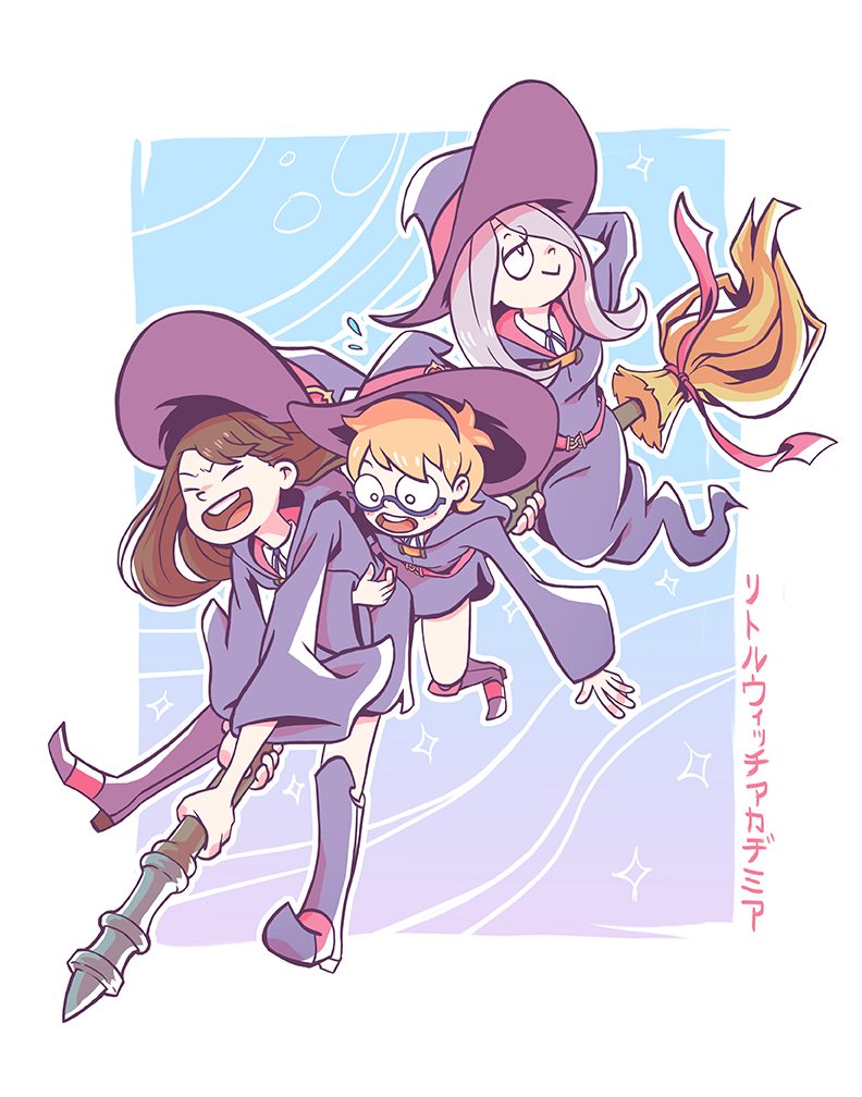 Little Witch Academia girls ( ´ `)♡ Available at AN at