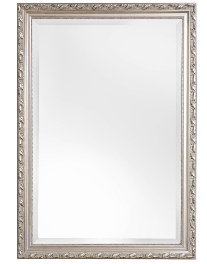 spiegel mit silbernem barock 802 pixels haus pinterest