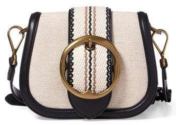 8c09b51d85 ... 50% off polo ralph lauren lennox canvas saddle bag 71879 0f6ad