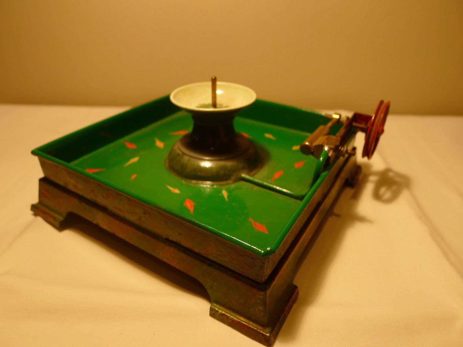 jouet ancien m canique machine vapeur bassin fontaine avec moteur complet ebay jouets. Black Bedroom Furniture Sets. Home Design Ideas