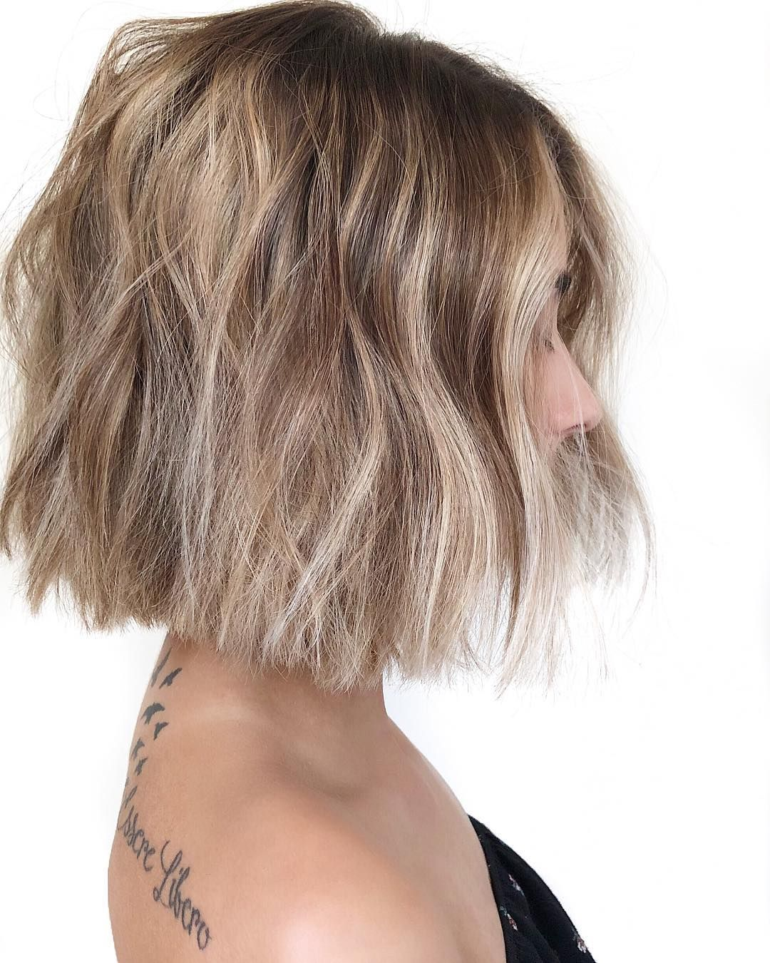 10 Trendy Messy Bob Hairstyles and Haircuts, 2021