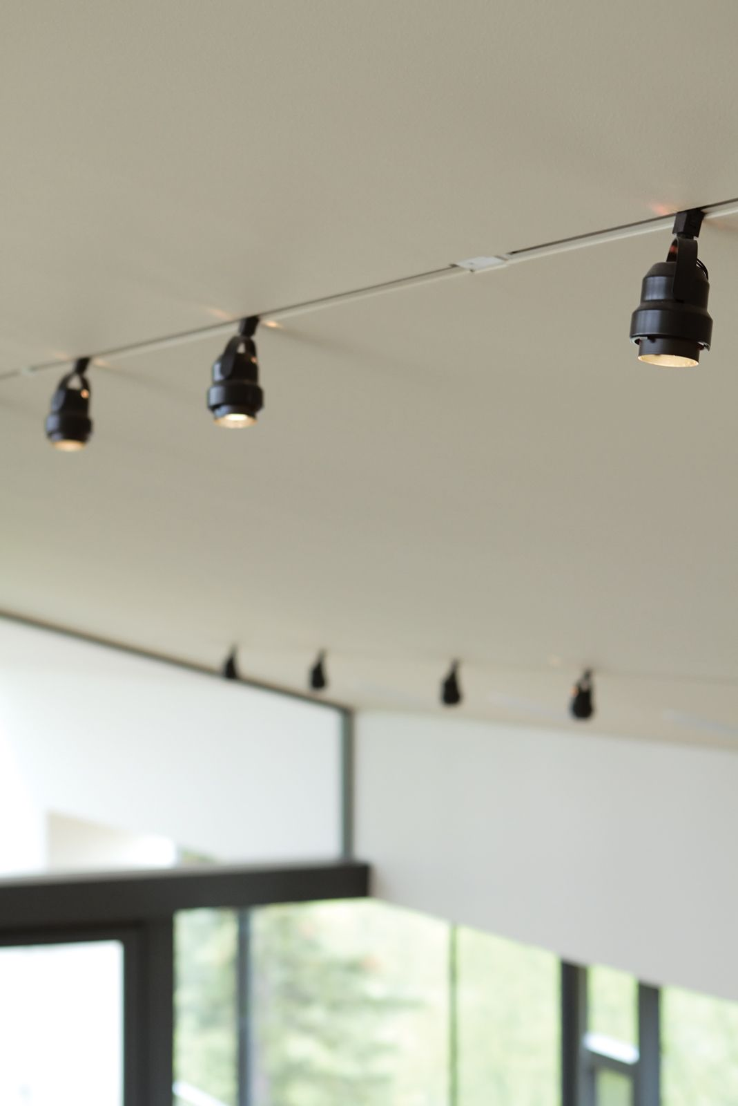 Photo 9 of 10 in an epic plot juno track lighting ceilings and lights back on trackin cold places recessed lighting in a vaulted ceiling can lead to water vapor problems in the roof so bull inset standard surface mounted aloadofball Gallery