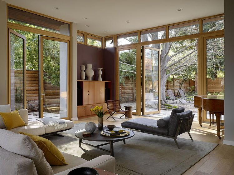 A couple puts their california home on track for leed - Interior design license california ...