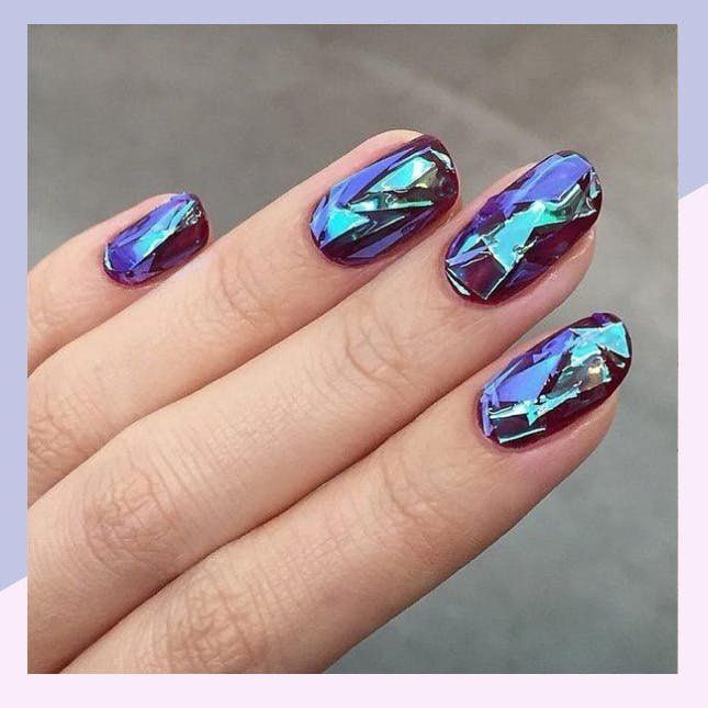 Gemstone Nail Art Is A Girls Best Friend Bookmark This