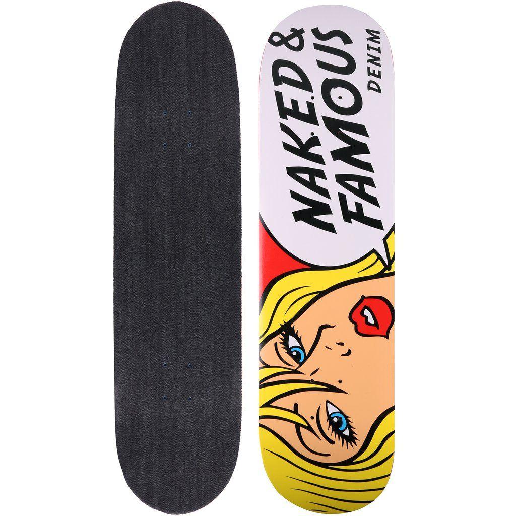 Skateboard Deck Tragic Blond 13 5oz Indigo Denim Skateboard Decks Skateboard Indigo