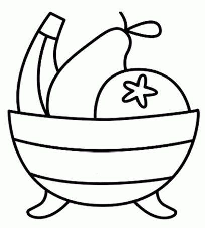 hatsjoe knutselidee 235 n uk puk kleurplaat fruitmand