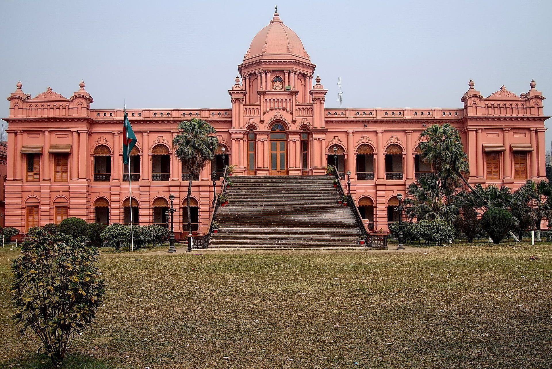Ahsan Manzil Front View Jpg Places Around The World Tourist Places Dhaka