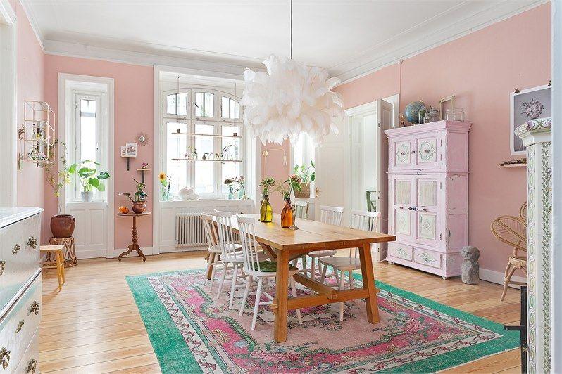 rosa saker till hemmet
