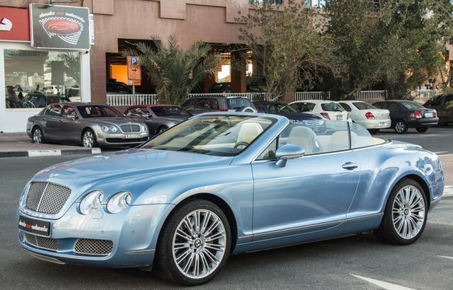 Dubizzle Dubai | Continental GT: 2007 Bentley Continental GTC With