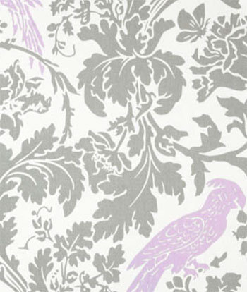 Lavender Damask Fabric By The Yard Premier Prints Ozborne Wisteria White Home Decor Upholstery Fabri