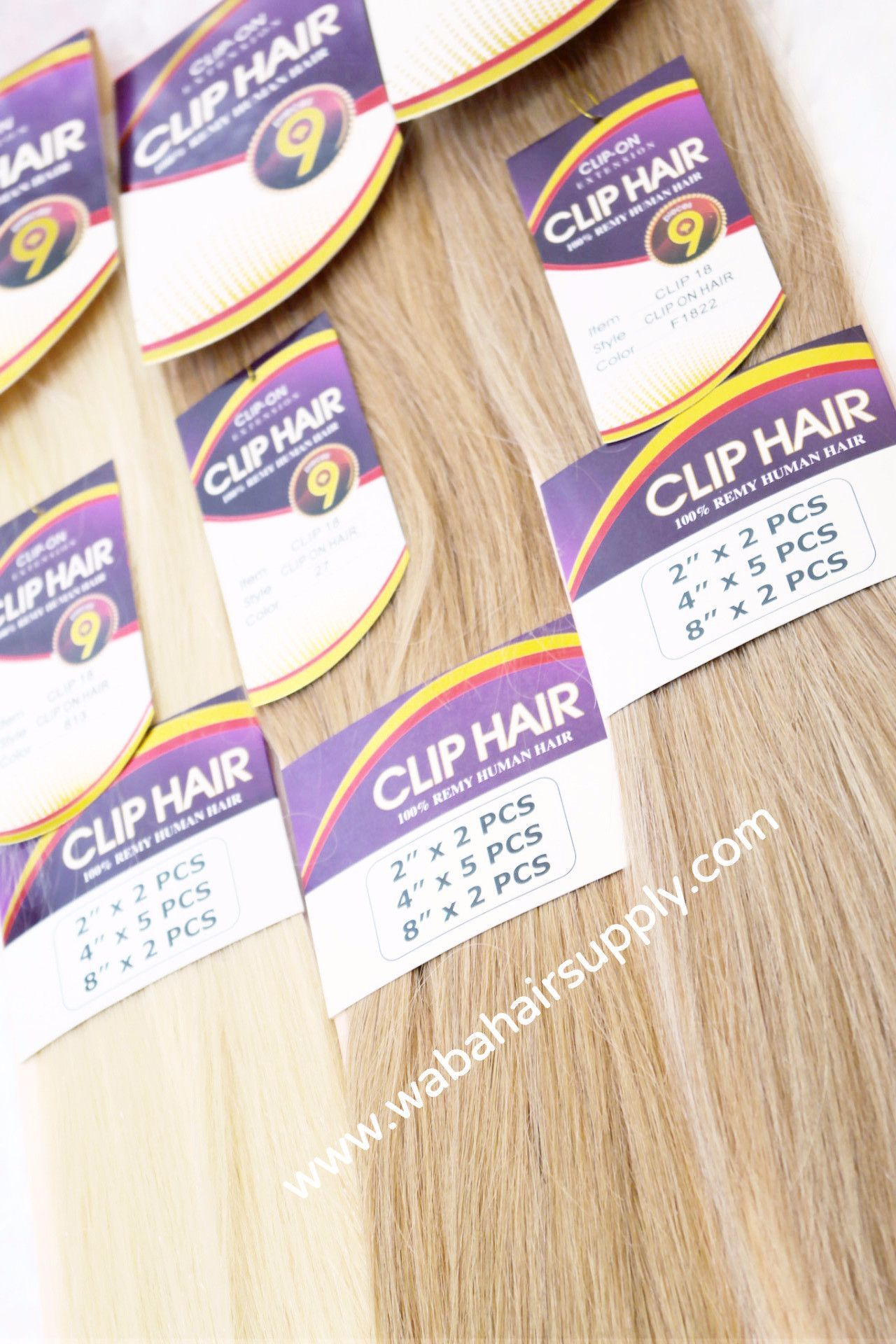 9 Piece Clip In Extensions 100 Remy Human Hair By Jazz Wave