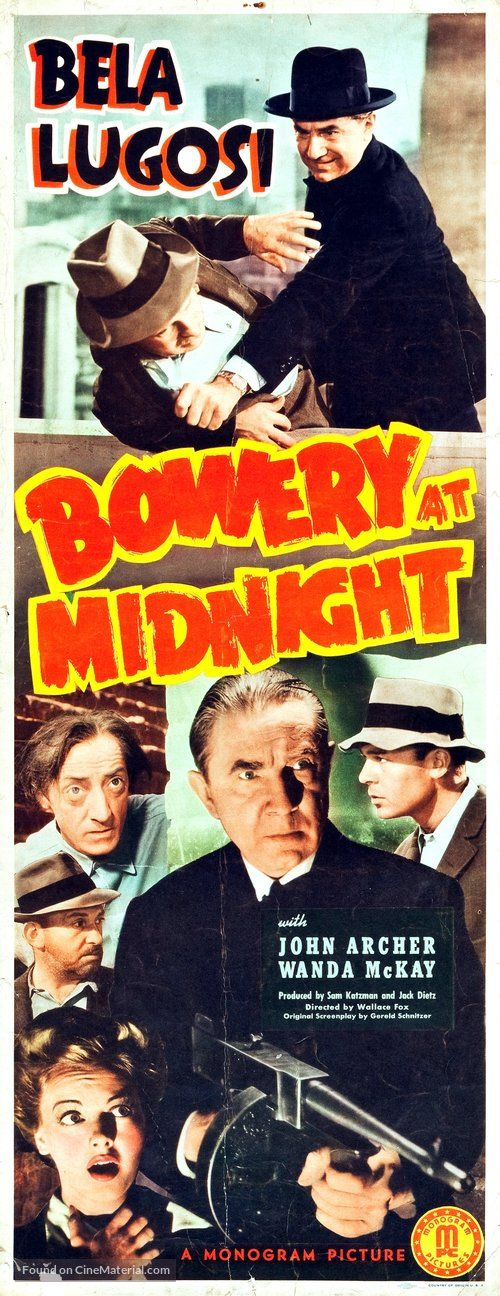 Download Bowery at Midnight Full-Movie Free