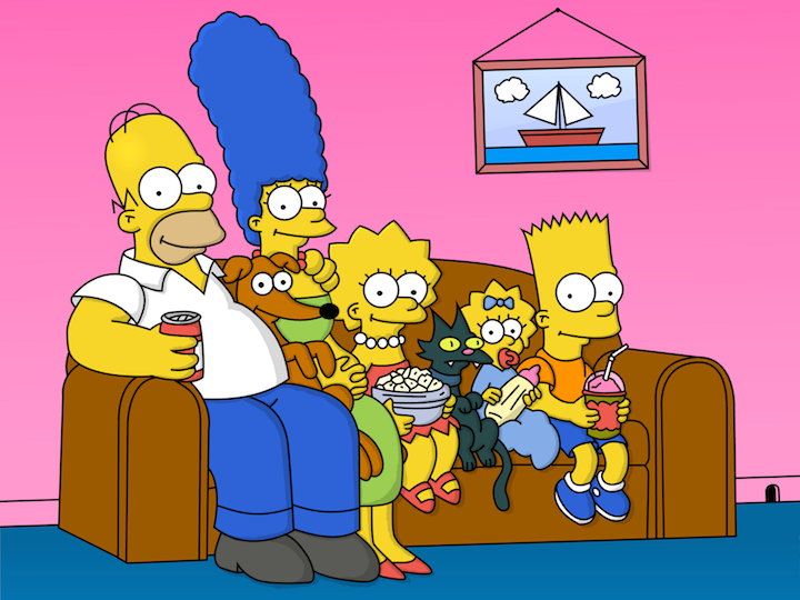 The simpson matt groening lisa marge bart omer