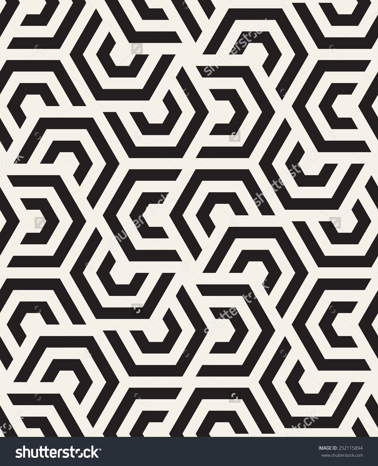 Vector seamless pattern modern stylish texture repeating Geometric patterns