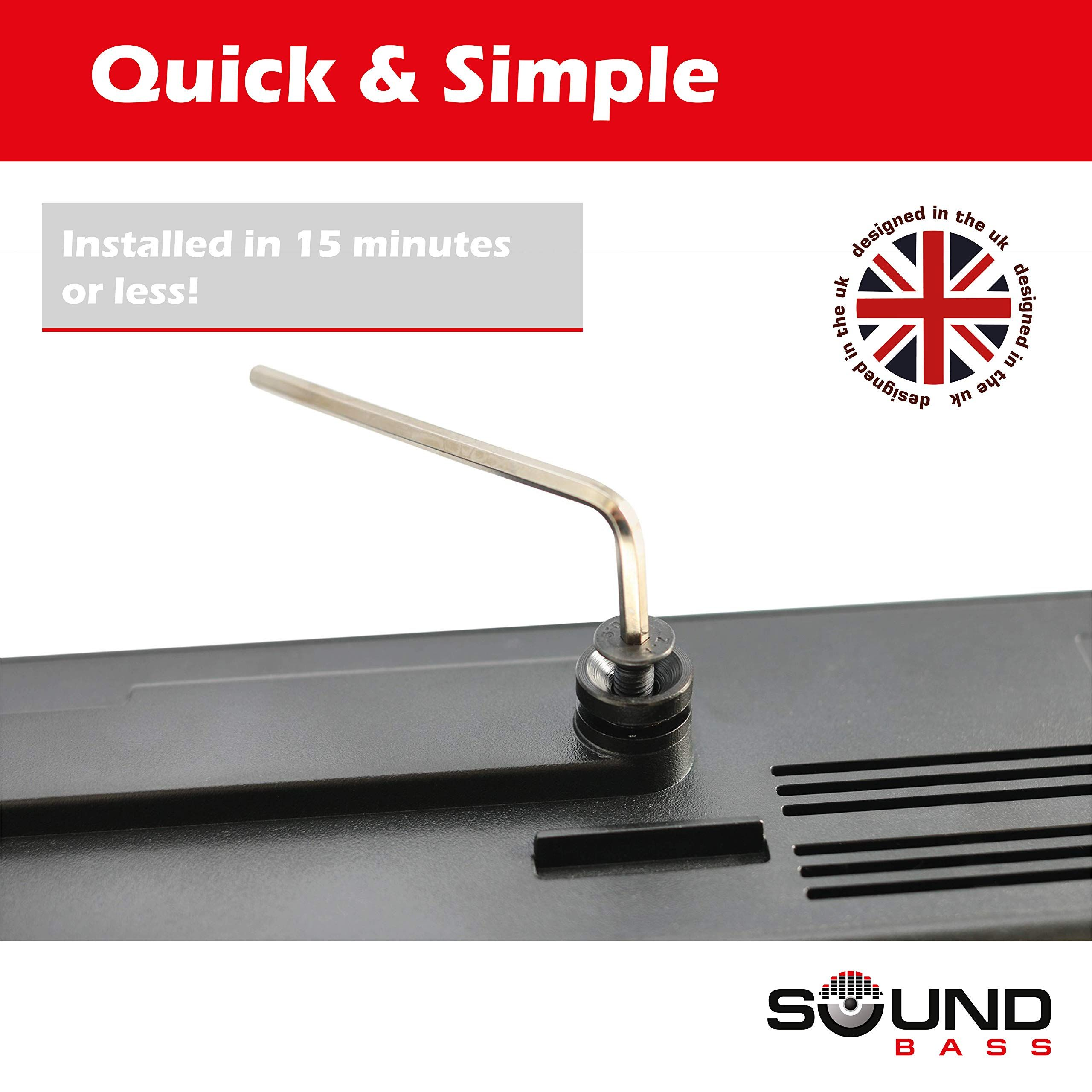 Solo 5 Wall Mount Kit For Bose Solo 5 Complete With All Mounting Hardware Designed In The Uk By Soundbass Kit Bose Mount Sol Design Mounting Wall Mount
