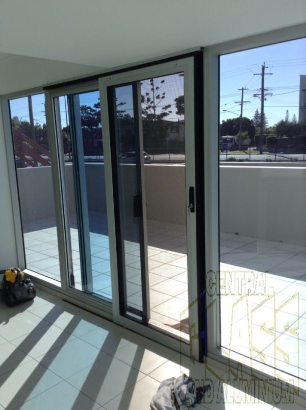 Customers Want Crimsafe But What Happens When You Have Externalslidingdoors And There Is No Pl External Sliding Doors Glass And Aluminium Windows And Doors