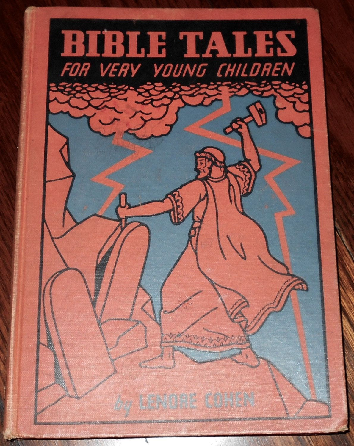 bible tales for very young children by lenore cohen 1934 by