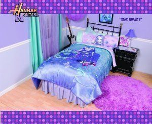 Hannah Montana Star Quality Full Comforter By Disney. $29.99. 100%  Polyester. Machine Wash. Matching Sheets Sold Separately. Fits A Full Size  Bed.