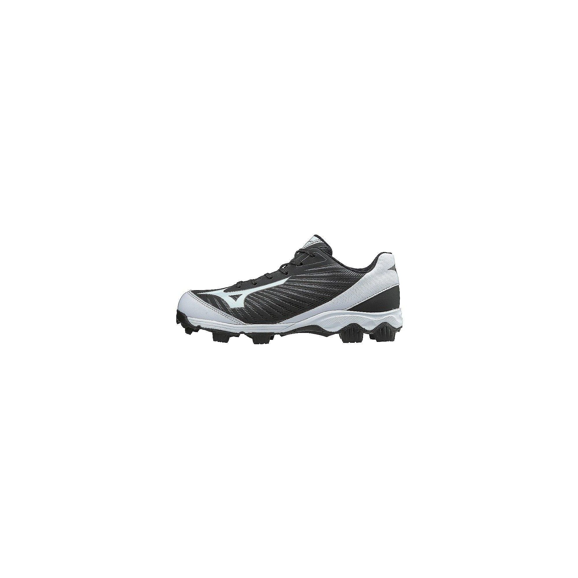 fdbd4dee5 Mizuno 9-Spike Advanced Finch Franchise 7 Womens Molded Softball Cleat,  Size 6.5 In Color Black-White (9000)