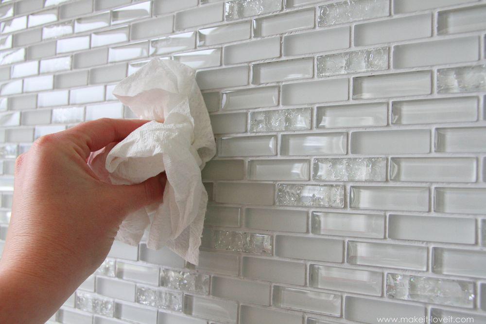 Home Improvement Laying Tile On A Fireplace Walls Or Backsplash Bathroom Tile Diy Diy Home Improvement Home Improvement Projects
