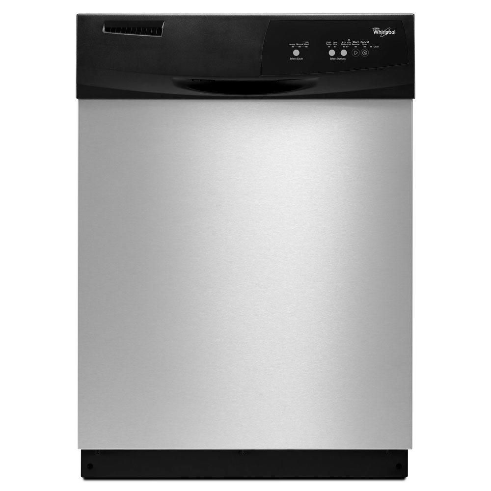 Whirlpool Front Control Dishwasher In Black Wdf310paab At The Home