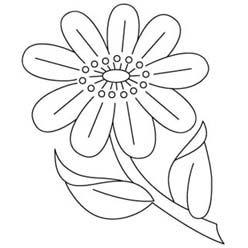 nice stylized flower