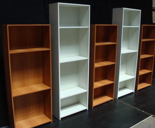 Plano muebles en melamina estante biblioteca proyecto 1 for Plano alacena melamina