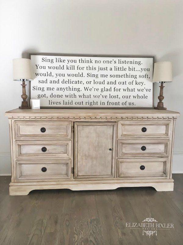 Chalk Paint A Dresser Painted Bedroom Furniture Chalk Paint