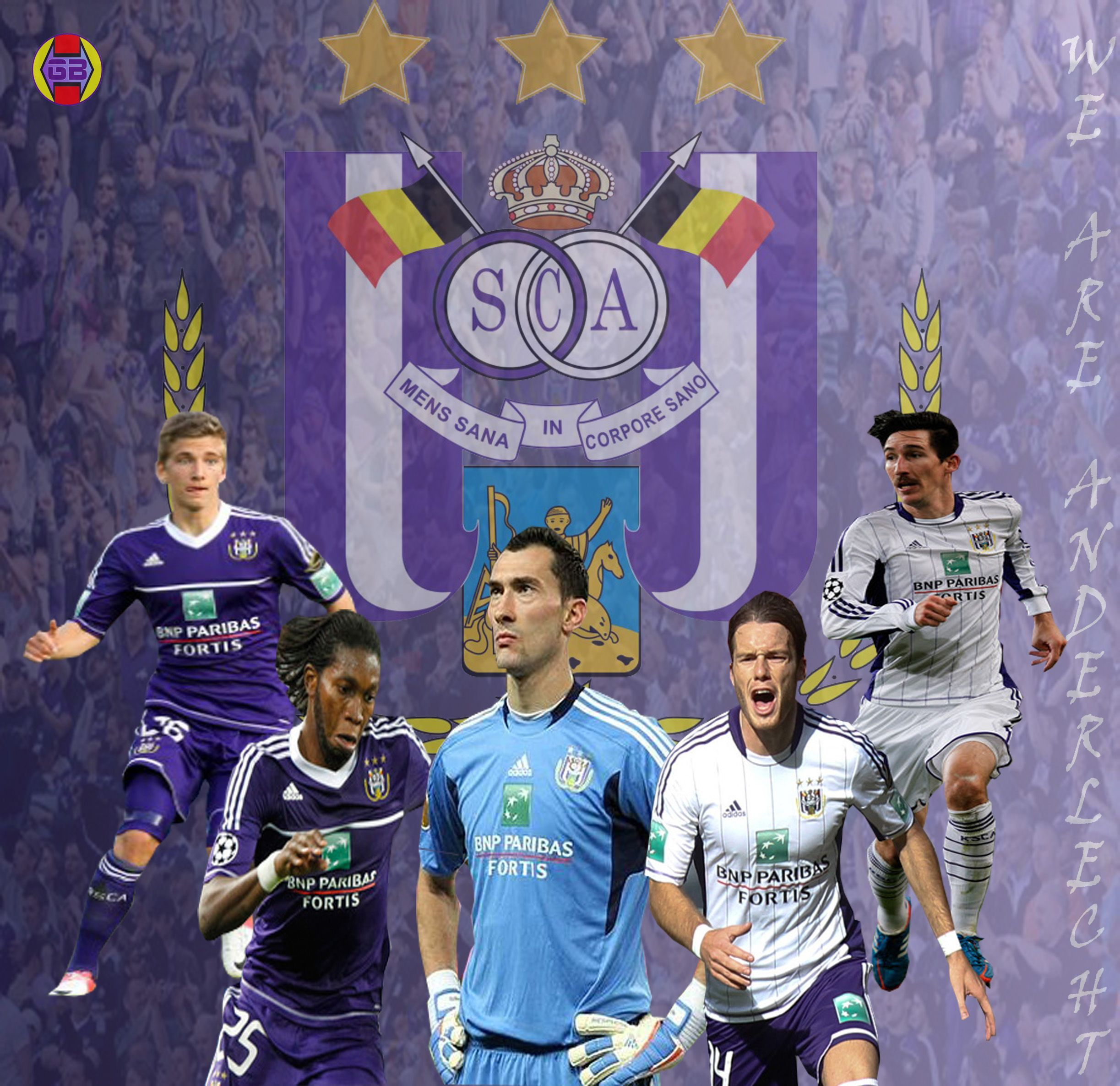 Chancel Mbemba Wallpaper: RSC Anderlecht Wallpaper