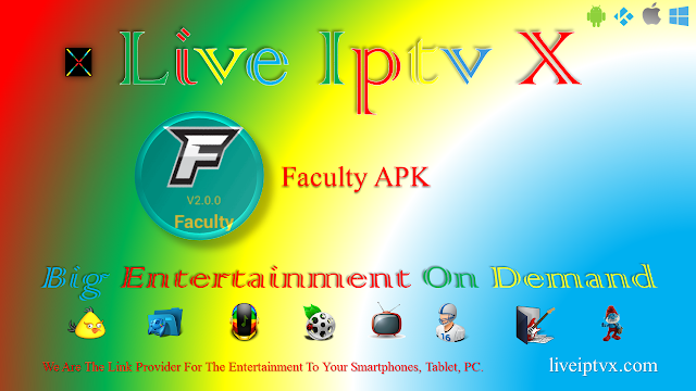 Watch Live TV And Live Sports Streaming With Faculty v2.0