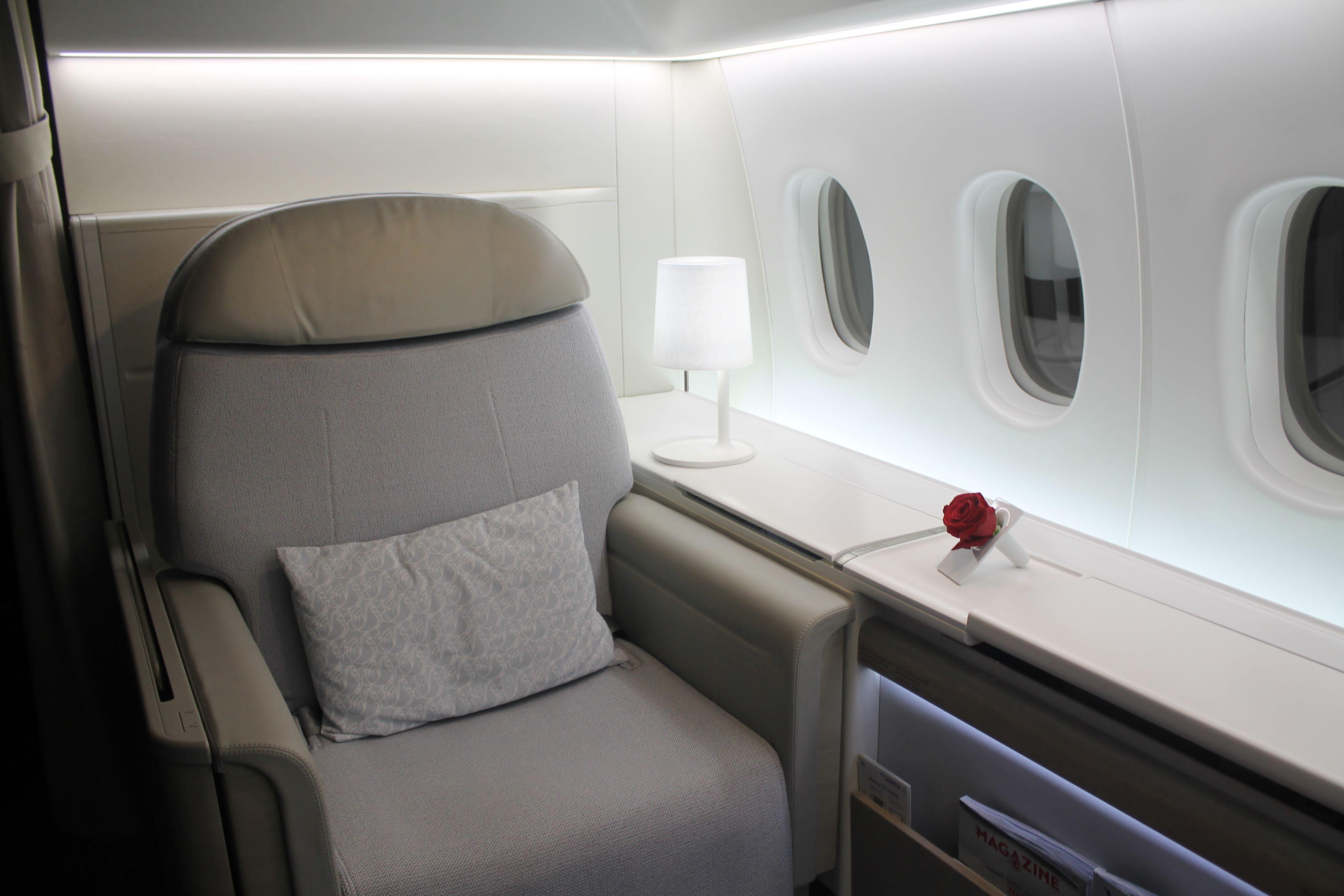 Air France Airbus A380 800 La Premiere Commercial Interiors Car