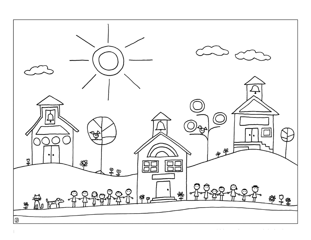 Elementary School Coloring Pages Printable School Coloring Pages Valentines Day Coloring Page Free Coloring Pages
