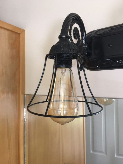 Photo of Bathroom Light Makeover # Bad Light # Bathroom # Light # Redo