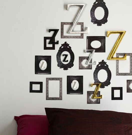 empty picture frame wall art ideas   Bedroom Wall Decorating Ideas    Decorate With Picture Frames. empty picture frame wall art ideas   Bedroom Wall Decorating Ideas