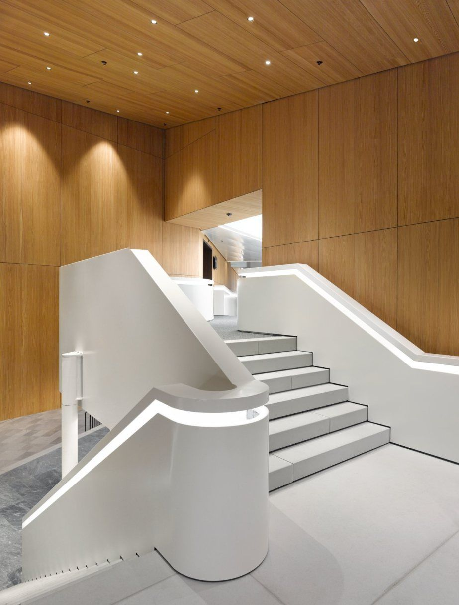 new WIPO Conference Hall Hall, Stair handrail, Architecture