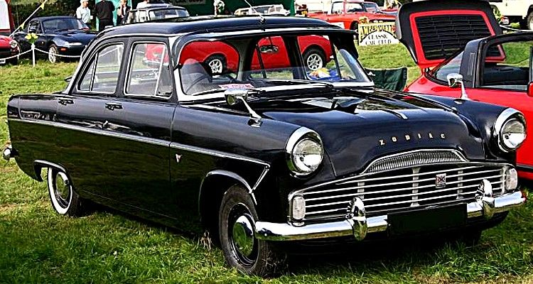 Ford Zodiac G2 Voiture Routiere De 1956 La Ford Zodiac Generation