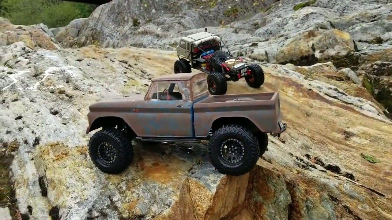 Traxxas Trx4 Chevy ** Spider-Man 🕷 Jeep FC ** Cross Rc Hc4 ** Rc4wd