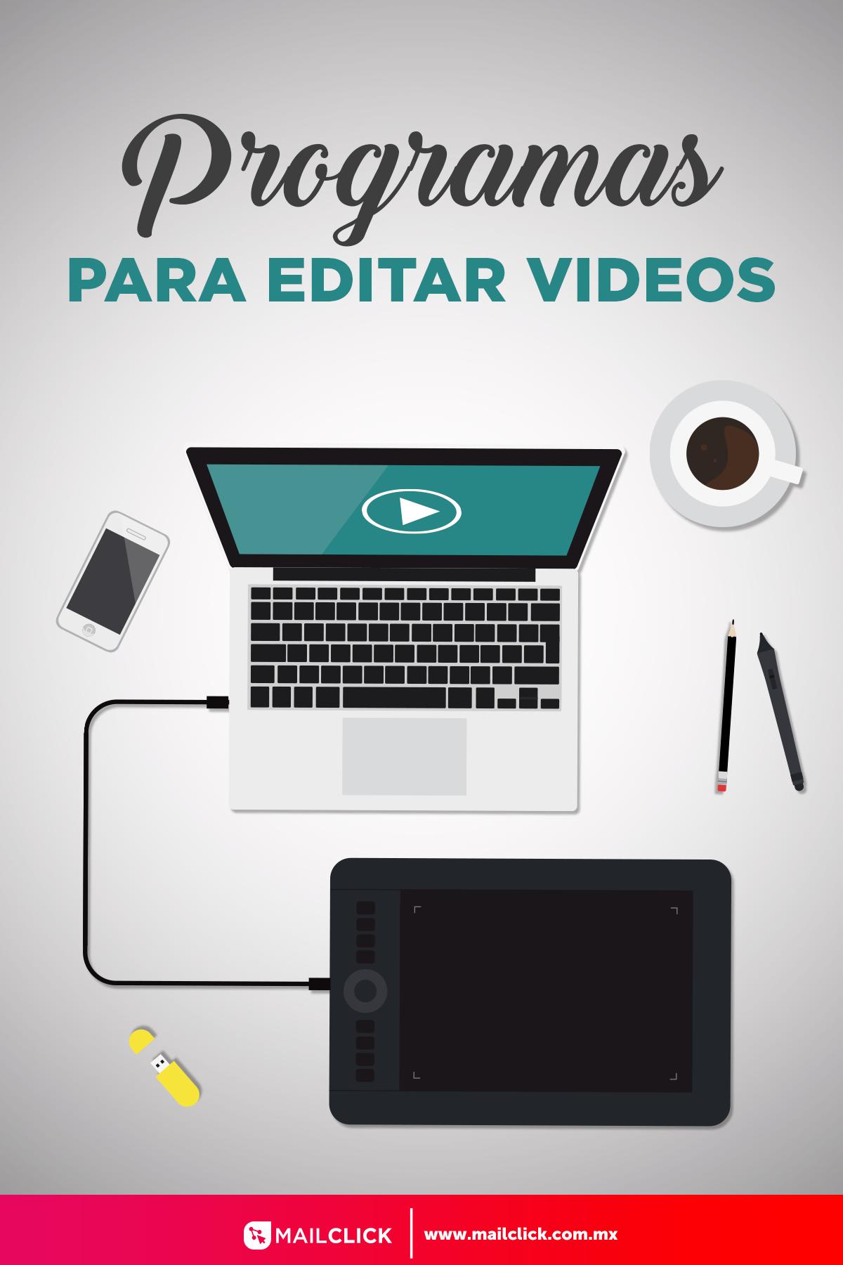 6 Programas Para Editar Videos Comunicacion Y Marketing Marketing Enseñanza Aprendizaje