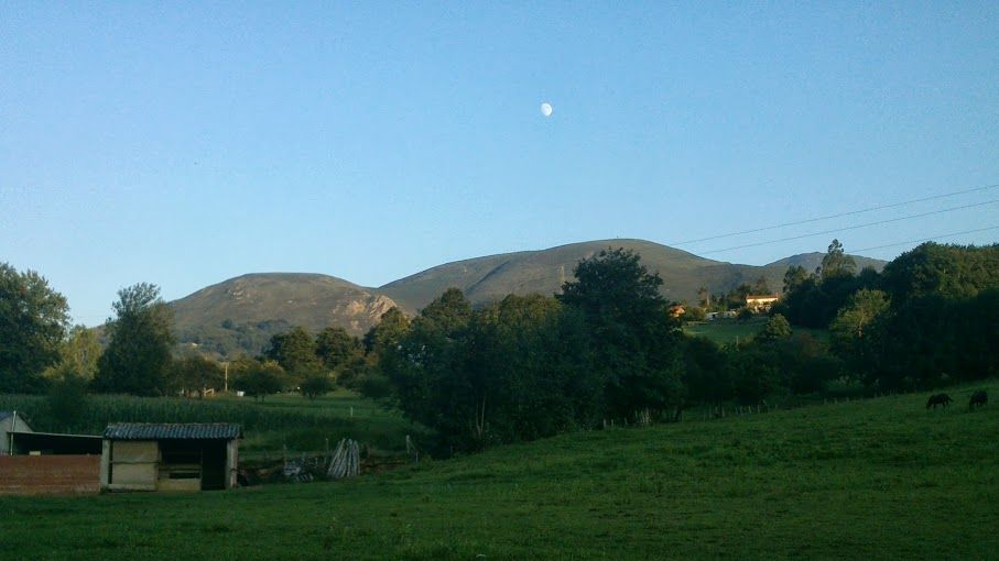 Atardecer en #Infiesto, #Asturias