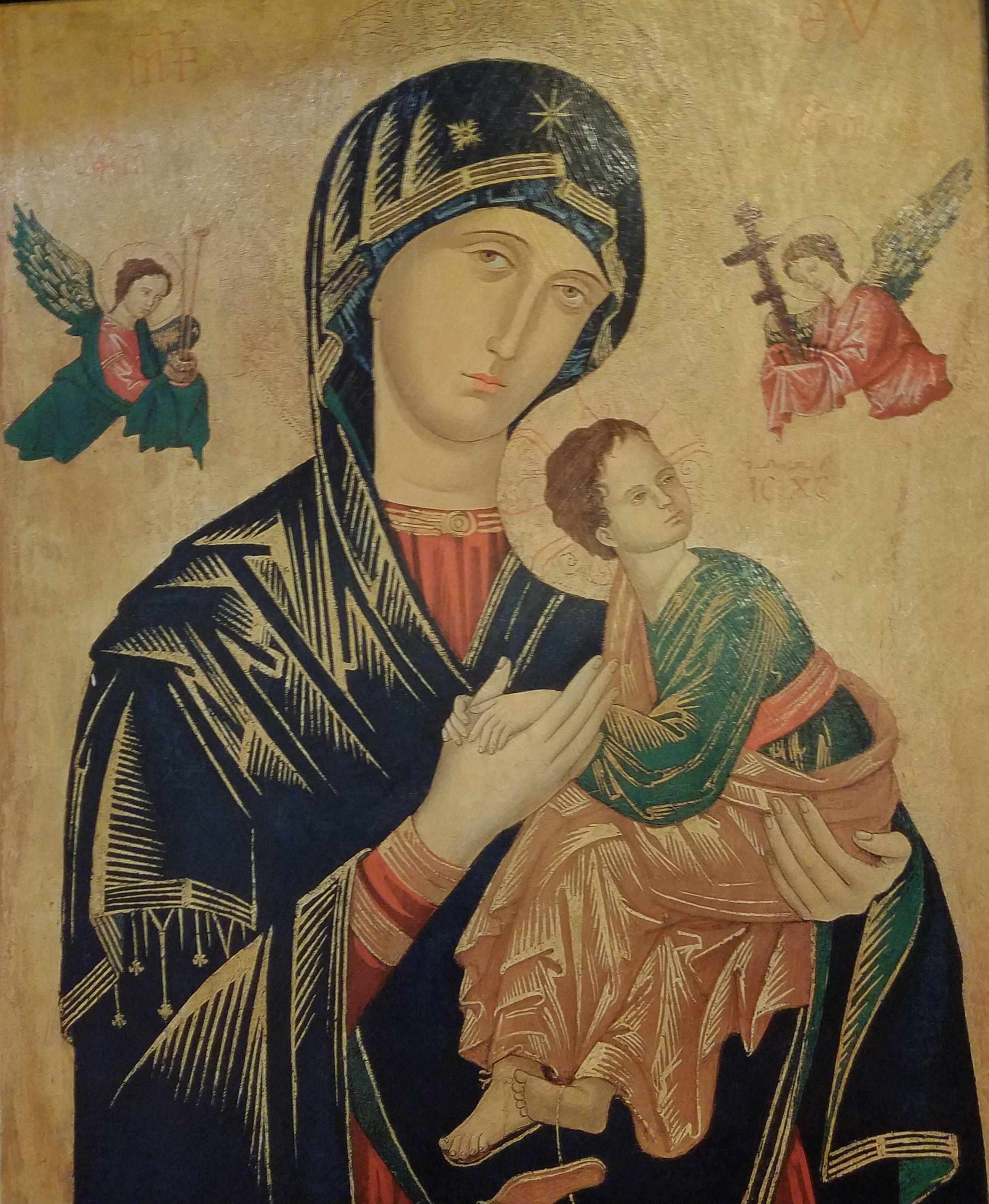 Maria Madre De La Iglesia Fortaleza De Los Cristianos Virgen