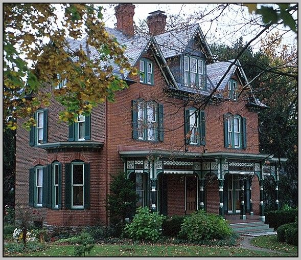 House Trim Colors With Red Brick
