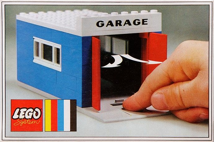 348 1 Garage With Automatic Doors Legos Pinterest Lego Lego
