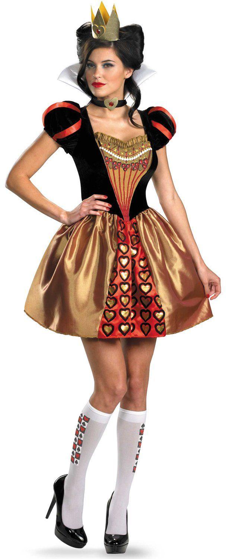 Queen of Hearts Costume DIY   ... Evil Queen of Hearts Costume ...