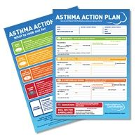 Asthma Action Plan Printable A Great Way For Nursing Students To