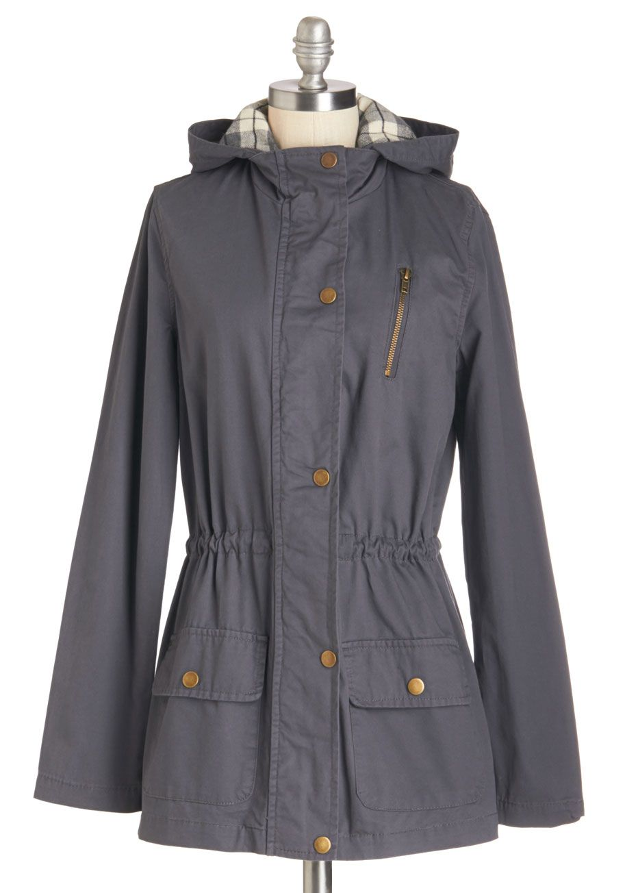 Cute Jackets For Women Modcloth Vintage Jacket Jackets Raincoats For Women [ 1304 x 913 Pixel ]