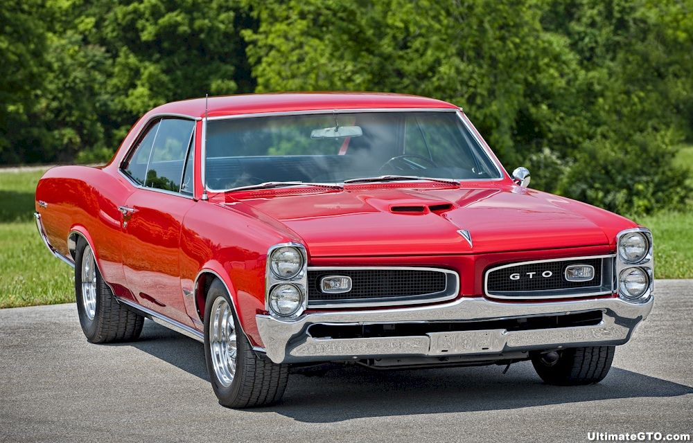 1966 Pontiac GTO  Almost identical to my 1967 GTO except my