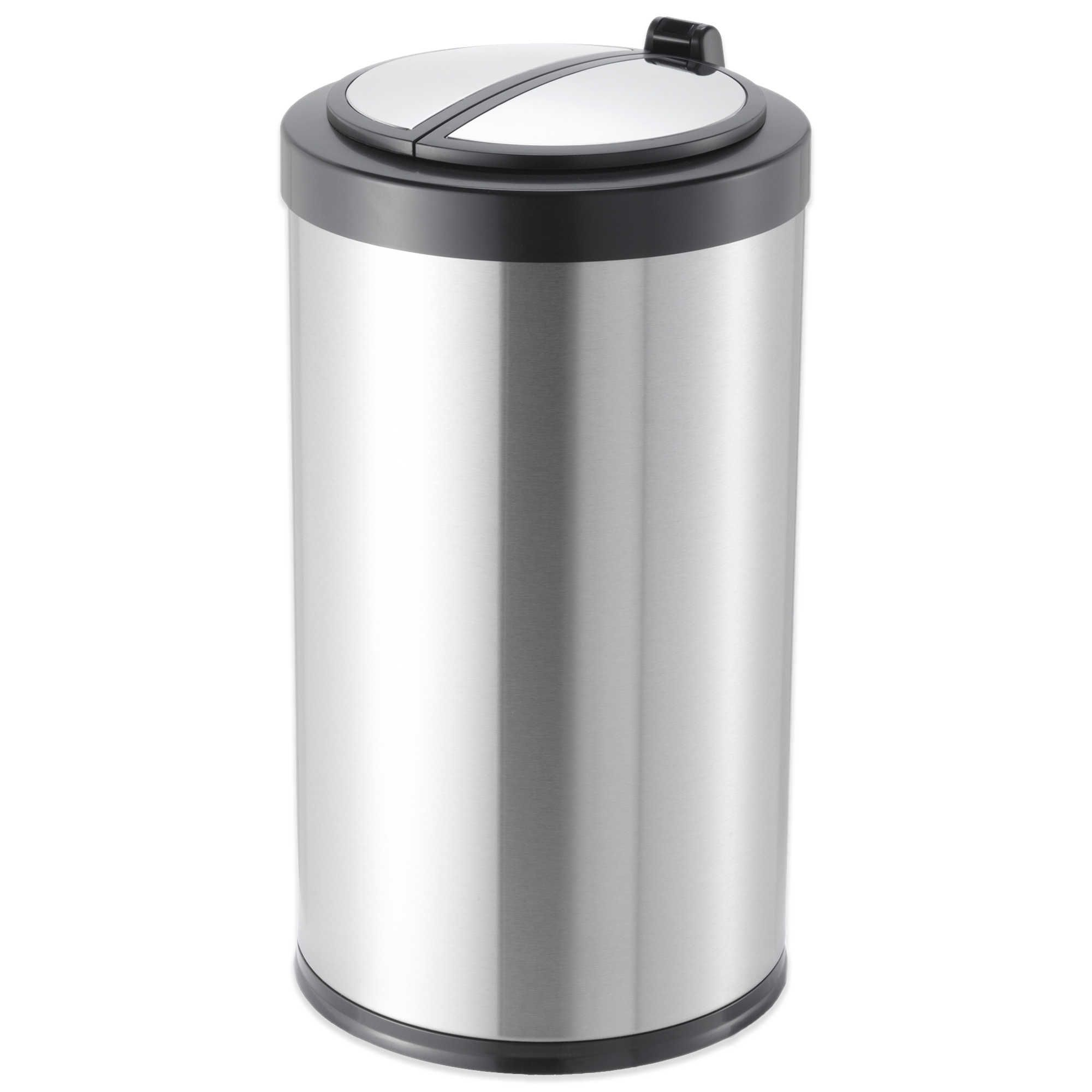Best 3 2 Gallon Motion Sensor Wastebasket Trash Can Bathroom 640 x 480