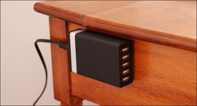 How To Add A Charging Station To Your Nightstand (Without Ruining It)